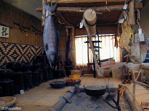 アイヌの生活~食・料理と収穫狩猟編
