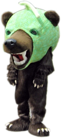 夕張市のメロン熊