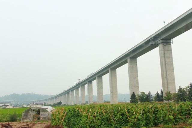 全長1.77㎞!日本一長い高速道路の橋をご存知? 伊達「長流川橋」