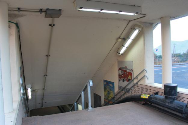 地下道なのにラーメン橋? しかも道内初の地下道が豊浦町にあった