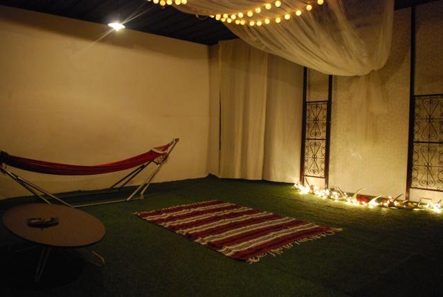 秘密にしておきたい 都心の地下に広がる異空間「ハンモックベースカフェ」