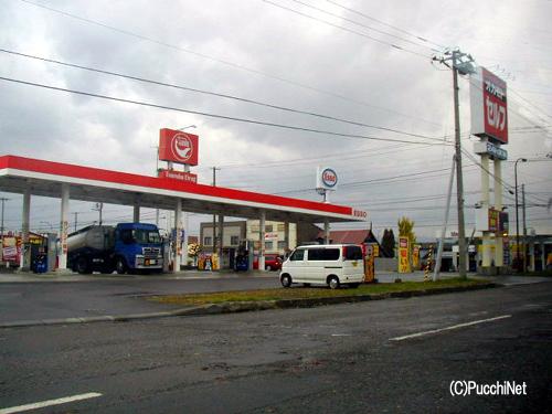ガソリンスタンド事情