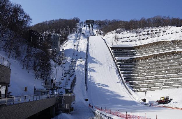 スキージャンプの原田雅彦・船木和喜選手!