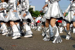 YOSAKOIソーラン祭りで盛り上がる
