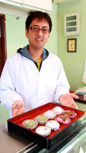 昼には完売!江別市民に親しまれる手造り大福餅のお店「ちよじ屋」