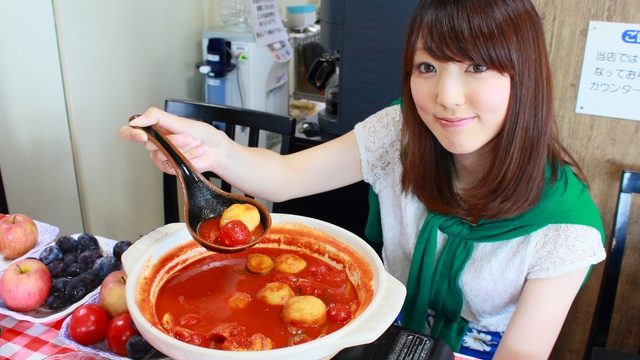 え!!「フルーツ鍋」って何?余市川温泉で驚きの料理を発見!