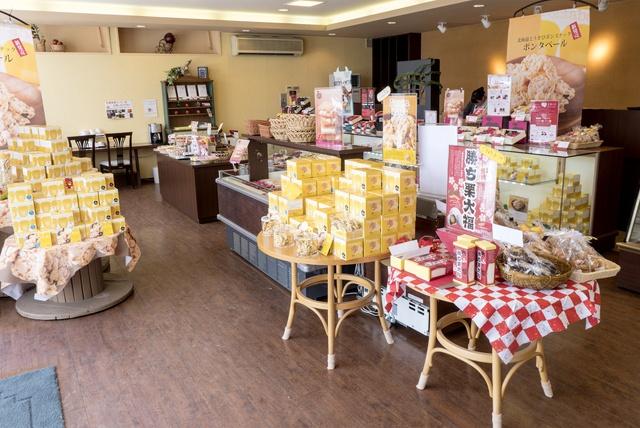 主力はリンゴのお菓子!砂川の菓子店「ほんだ」がリンゴを選んだ理由