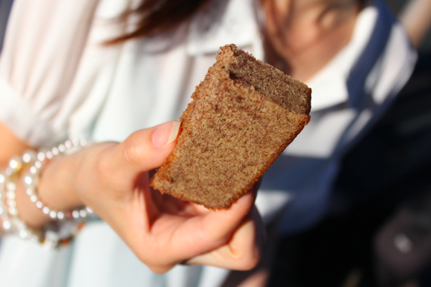 深川特産の黒米を使った商品が続々誕生!黒米カステラや黒米おにぎりも