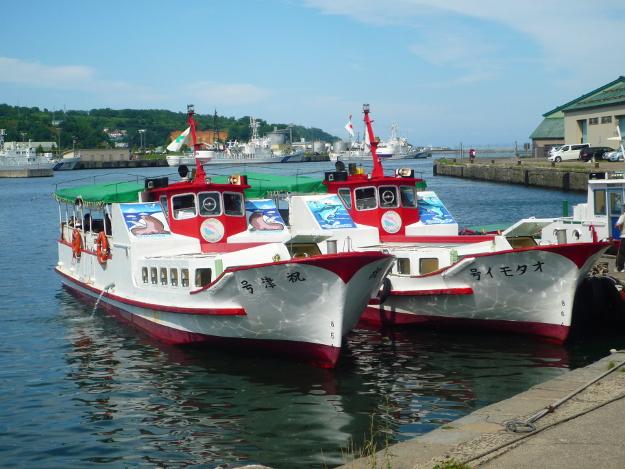 さよなら「祝津号」「オタモイ号」―小樽の観光船あと半月で引退