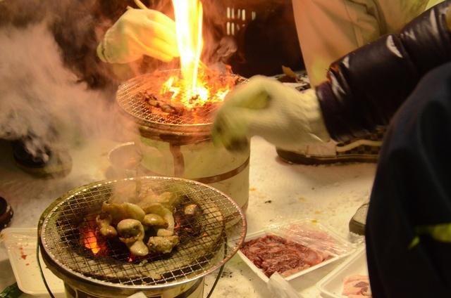 気温-4度と絶好の焼き肉日和!?「北見厳寒の焼き肉まつり」に潜入!