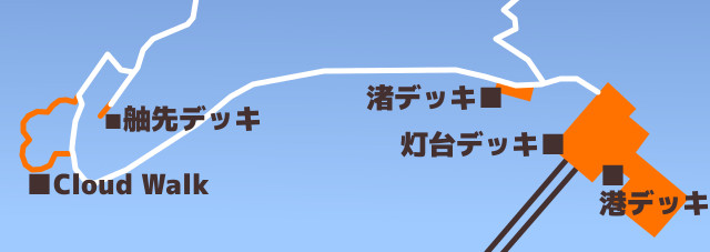 雲の上を歩いているよう!トマム雲海テラスに5番目のデッキが誕生!