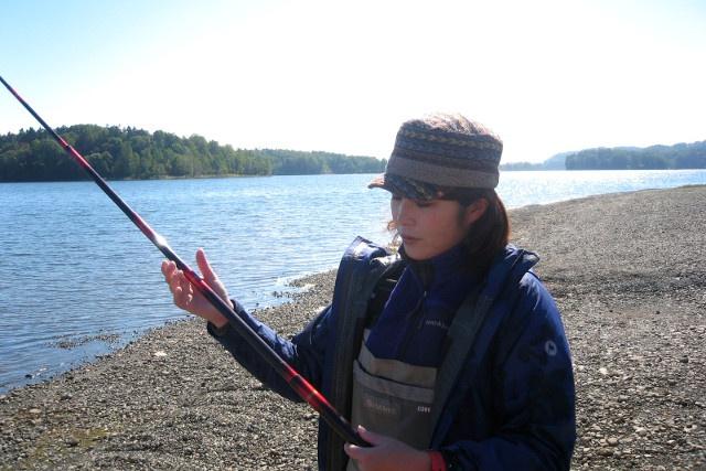 女子旅!手軽旅!神秘の湖「朱鞠内湖」で釣り体験!無人島にも上陸!