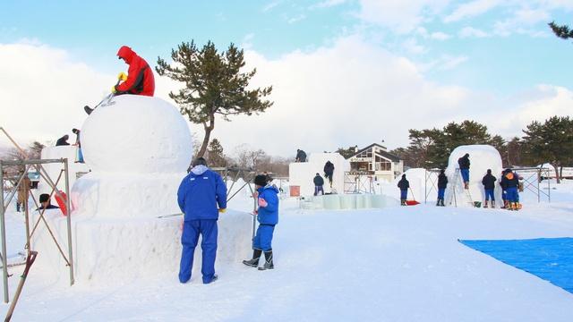 「大沼函館雪と氷の祭典」50回の節目に雪上馬車を初運行!