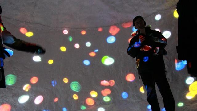 4つのかまくらに光のアートを投影!「さっぽろユキテラス2016」開幕