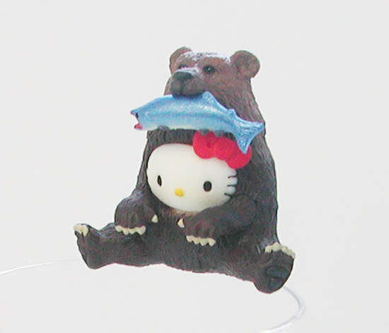 コップのフチ子公認!北海道の動物達になりきったハローキティ誕生