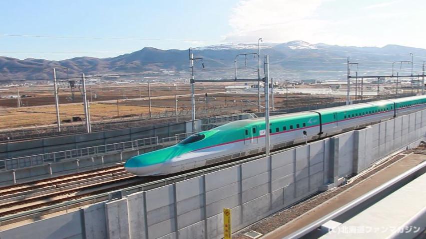 北海道新幹線撮影スポットに!「青函トンネル記念撮影台」通過時刻表