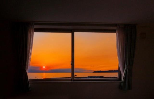 美しい夕日が見られる人気宿トップ5に利尻島アイランドインリシリ!