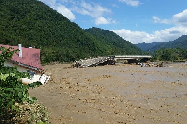 台風10号の影響で主要国道が寸断―日勝峠など復旧の見通し立たず