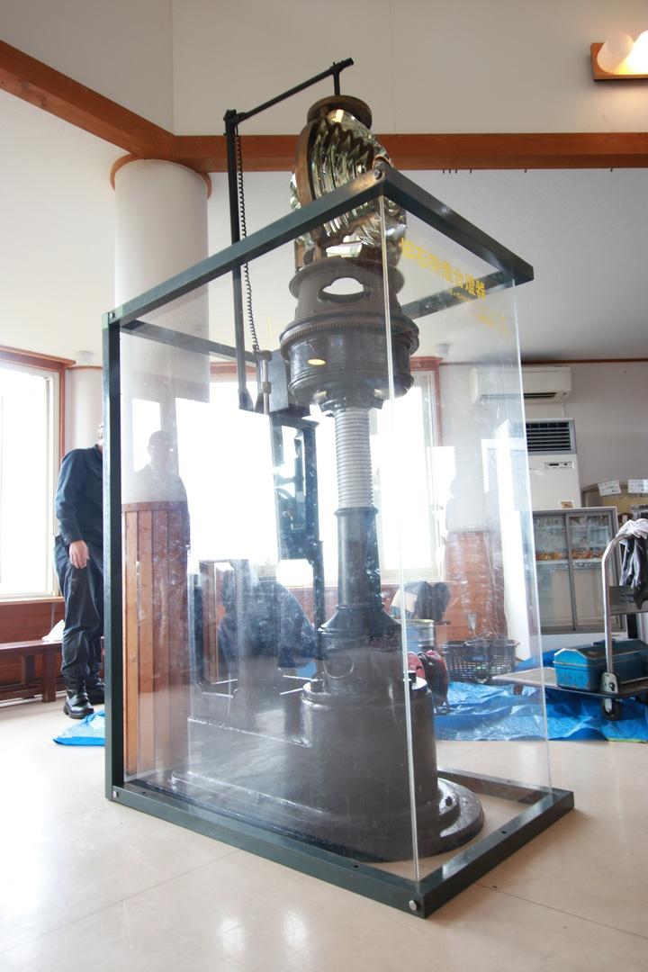 100年以上前に使われていた石狩灯台のレンズが里帰り!10/22にお披露目