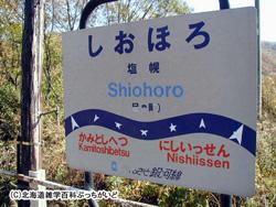 塩幌駅(しおほろ):ふるさと銀河線
