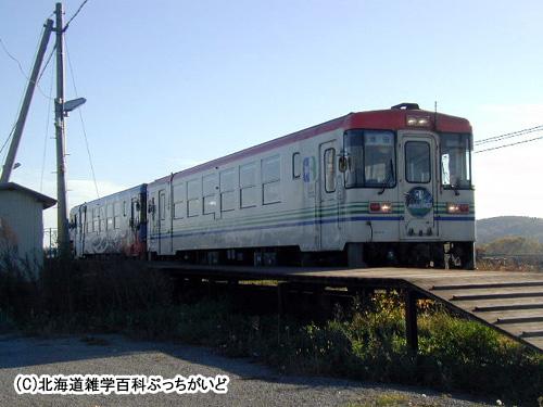 西訓子府駅(にしくんねっぷ):ふるさと銀河線