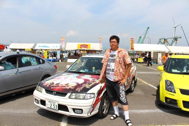 室蘭に熱い痛車が勢ぞろい!「室蘭カーフェスティバル」初開催