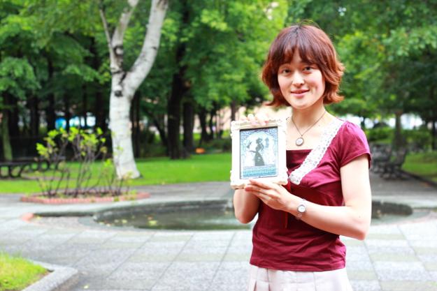 可愛い切り絵に高評価―札幌在住の切り絵作家 黒川絵里奈さん