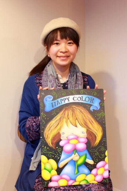 チョークアートをもっと身近に―チョークアーティスト笹森花絵