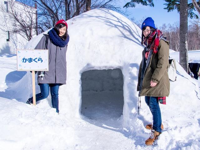 さっぽろ羊ヶ丘展望台は冬も楽しい!「羊ヶ丘スノーパーク」で雪遊び!