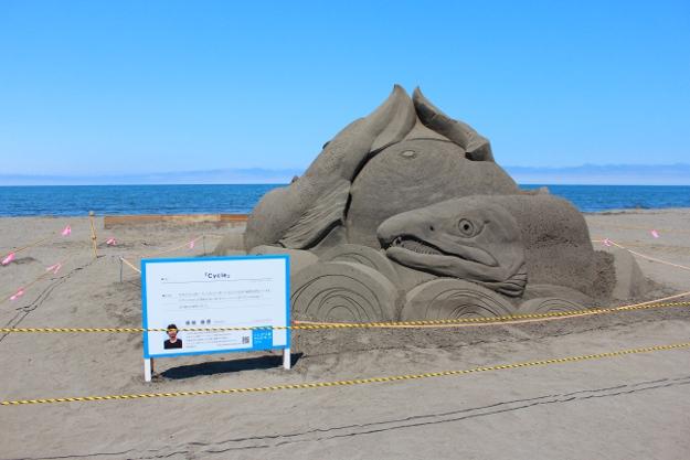 砂浜に砂像が出現!「いしかり浜サンドパーク」今年も開催