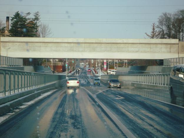 野幌地区南北がつながった! 野幌駅周辺の高架下道路が続々開通中