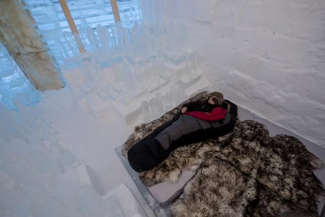氷のホテル・バー・アクティビティを満喫!「アイススターホテル」