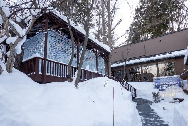 札幌エルムガーデンにも氷の部屋が!1日2組限定でコース料理が楽しめる!