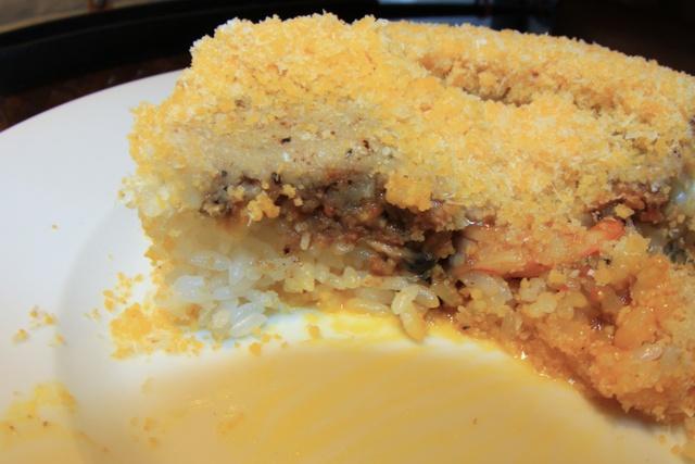 見た目はケーキ!味わうとカレー?「円山教授。」が斬新な新メニュー