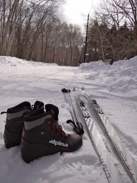 スキーをはいて常夏へ!真冬でもコオロギが鳴く川湯の「ポンポン山」