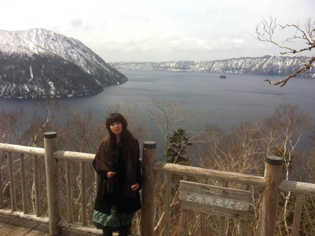 「神の子池」と「裏摩周展望台」をセットで!冬の清里町巡り!