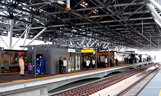 新・旭川駅開業!近代的な高架ホームに