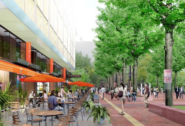 北3条通が変わる! 赤れんが庁舎前を公園化、複合施設を着工へ