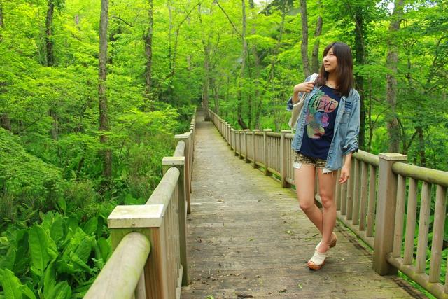 湖と湿原と森林が広がる白老「ポロトの森」で森林浴!!