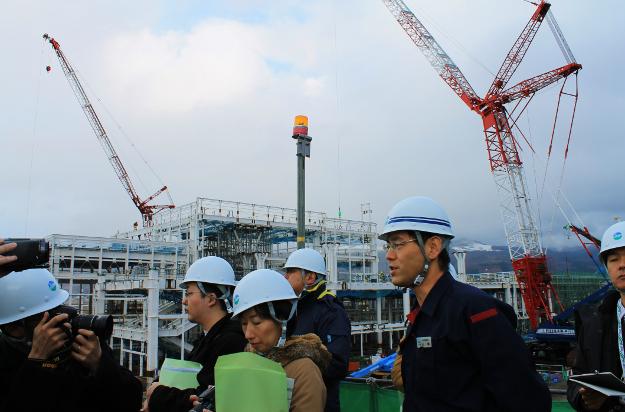 北海道新幹線工事の進捗状況は? 新函館駅などで建設現場見学会