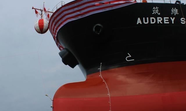 これが船が誕生する瞬間!!「函館どつく」進水式を見に行こう!