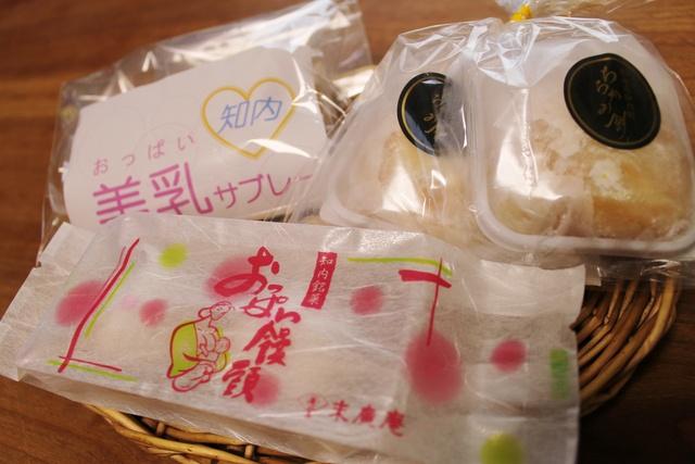 おっぱい菓子が並ぶマチ・知内に古くから伝わるおっぱい伝説とは?