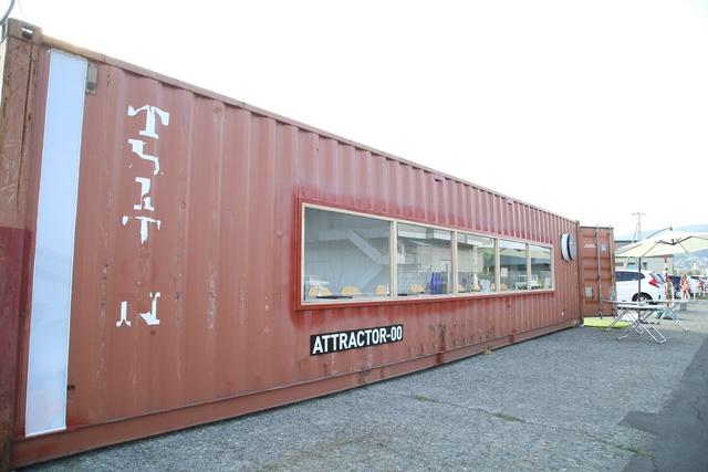 コンテナがカフェに?! 小樽港に現れた幻影~PHANTOM(ファントム)~