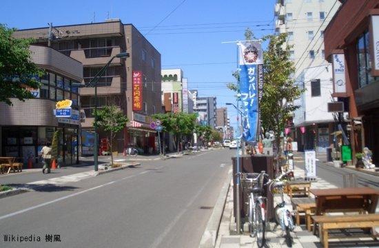 リサイクルショップが集まる本郷通商店街