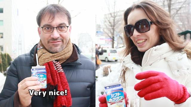 外国人はソフトカツゲンを美味しいと言ってくれるのか?インタビュー