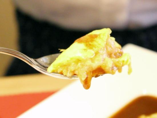 絶品チーズ入りオムライス「ダイニング イル・ネージュ」