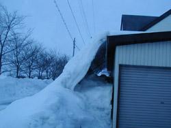 車庫とロードヒーティングと融雪溝!!