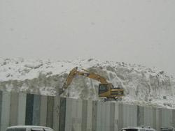 道路も除雪作業!!