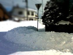 除雪作業!!
