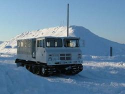 雪国で活躍する作業車たち!!